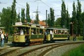 Bild: Wagen 10 aus Berlin, so ähnlich sahen auch die Vorkriegswagen in Potsdam aus